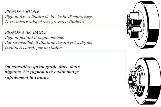 utilisation_tronconneuse_et_entretien_pignon